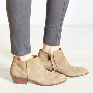 Sam Edelman Petty Moss Ankle Booties Suede Booties